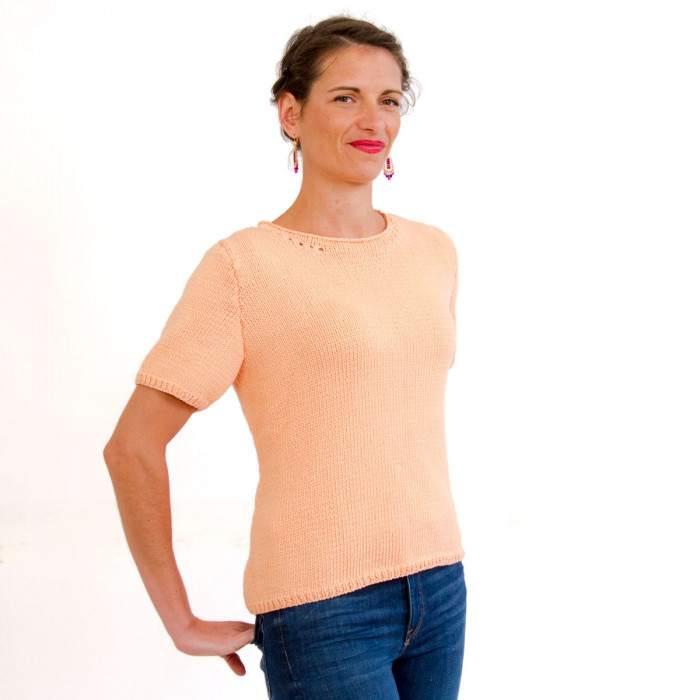 T-Shirt Sienne