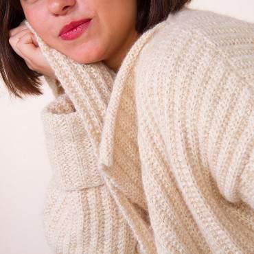 Veste à tricoter en kit tricot sur-mesure