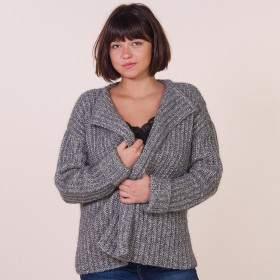 Veste à tricoter en kit