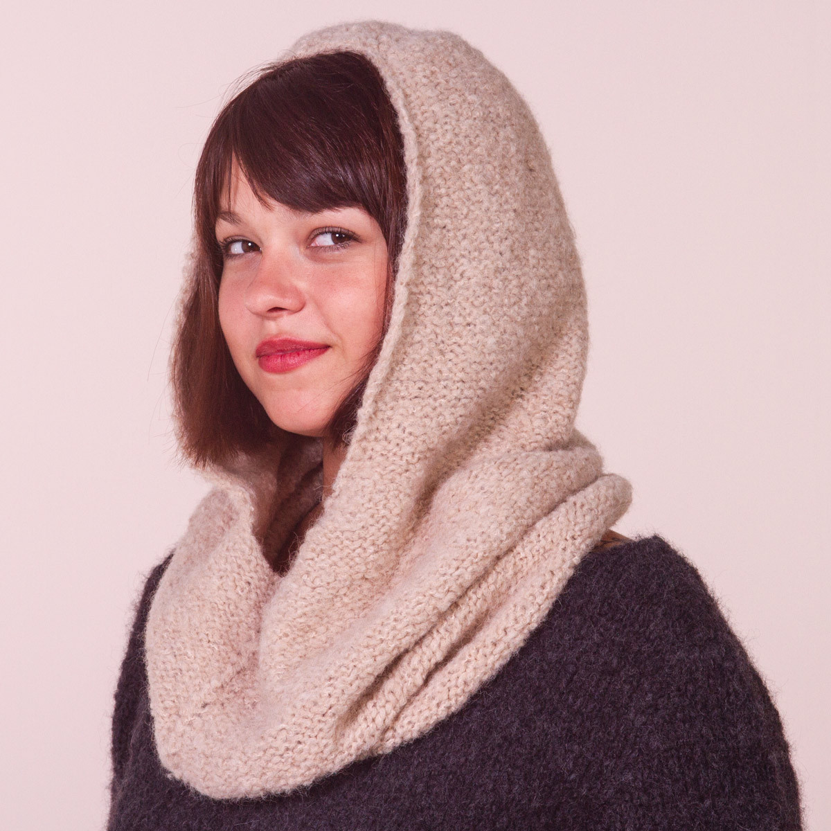 Snood à capuche