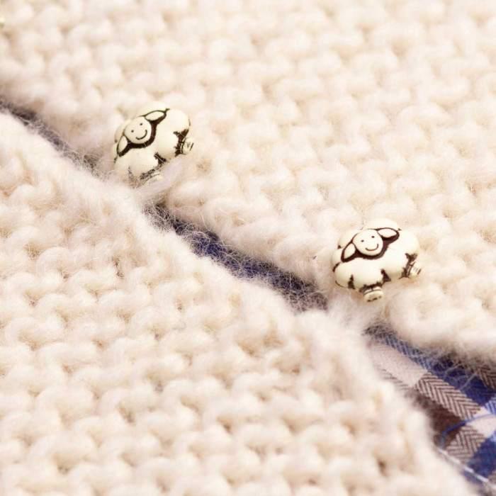 Gilet de berger à tricoter