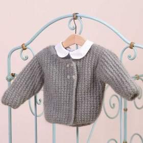 Gilet Léa kit tricot bébé