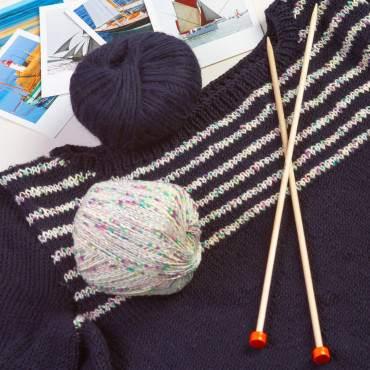 pull Natice en pur laine à tricoter soi-même