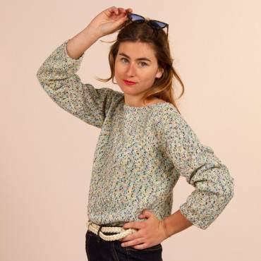 Pull d'été en kit tricot