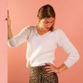 Pull en kit tricot