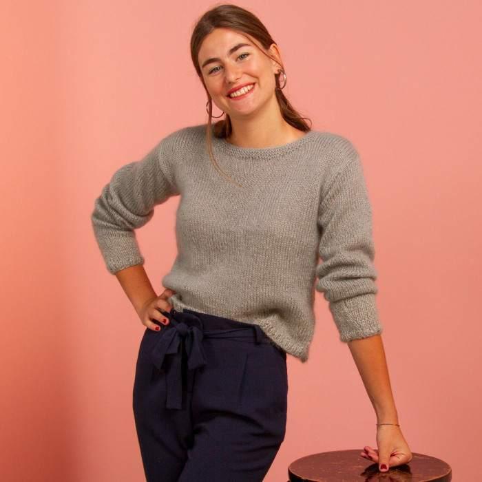 Pull tricot facile