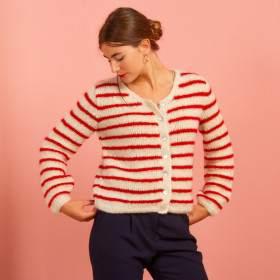 Gilet en kit tricot