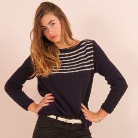 Pull à tricoter