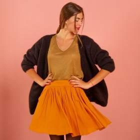 Gilet femme à tricoter