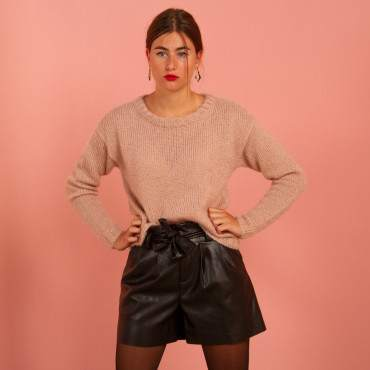 Pull oversize à tricoter en kit