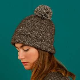 bonnet en kit tricot débutant
