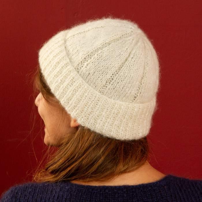 Bonnet à tricoter