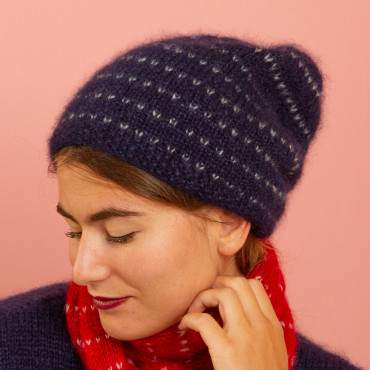 bonnet en kit tricot