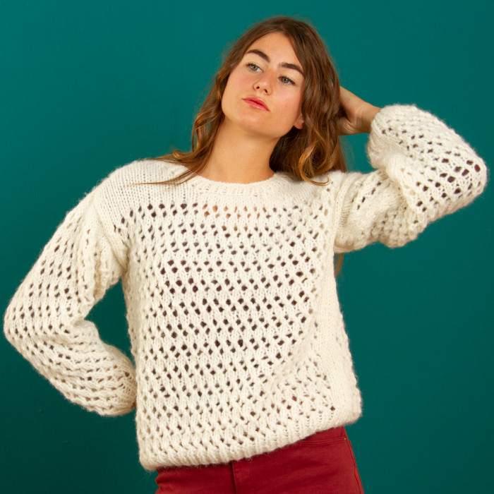 Pull en kit à tricoter