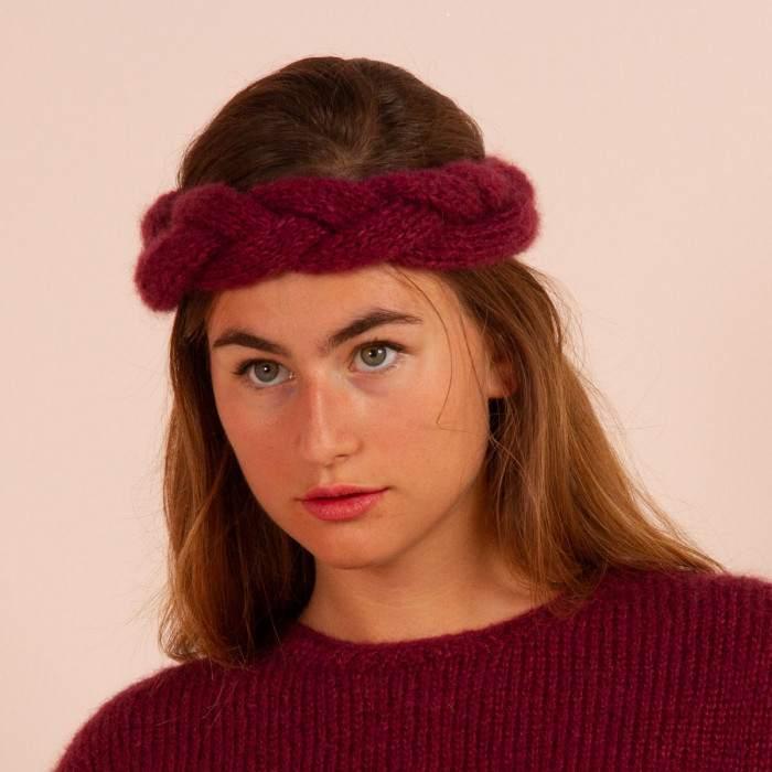Headband à tricoter