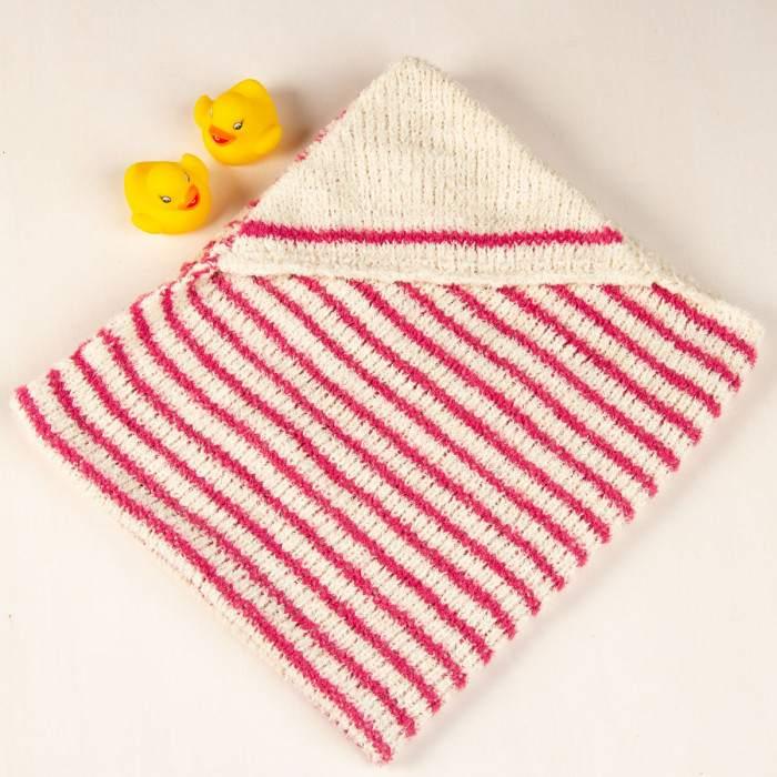 sortie de bain à tricoter