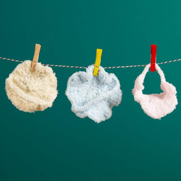 Lingettes lavables au crochet