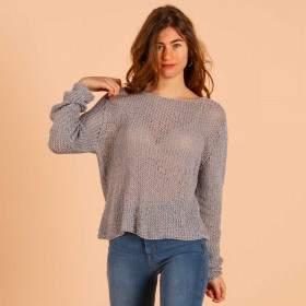 Pull coton à tricoter