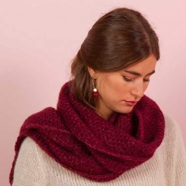 Écharpe à tricoter Arolla