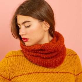 Snood facile Evolène - Kit tricot