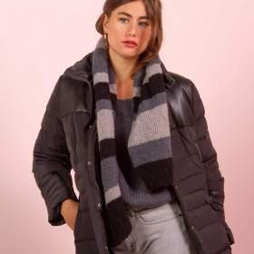 Echarpe à tricoter