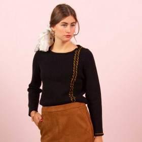 Pull fête kit tricot