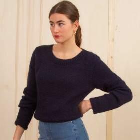 Pull marin à tricoter
