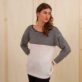 Marinière en kit tricot