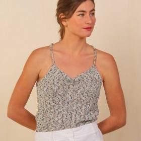 Débardeur femme en kit tricot