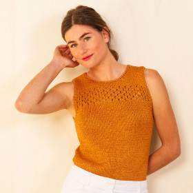 Top Phasianelle en kit tricot