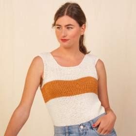 Top Binic en kit tricot