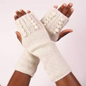 Mitaines à tricoter Asnelles - Kit tricot