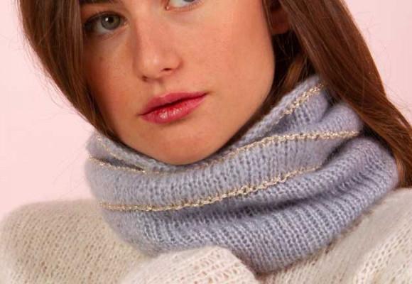 Comment tricoter un snood ?