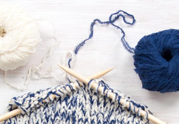 Tricoter à trois brins
