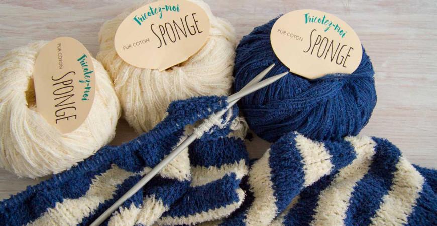 Comment tricoter des rayures ?