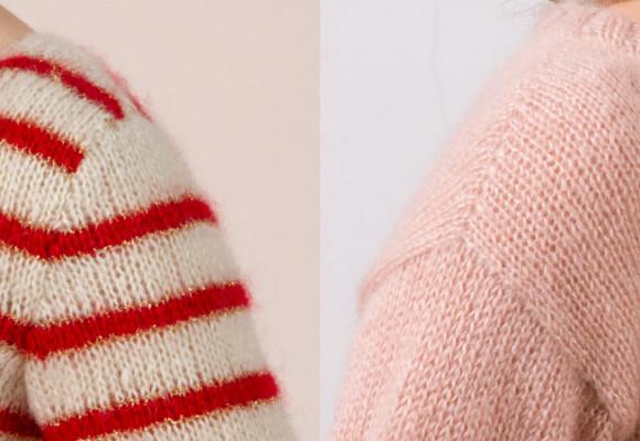 Manches montées, manches droites en tricot, quelle est la différence ?
