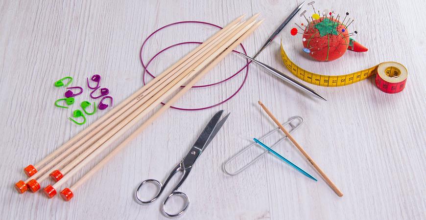 Quels sont les outils pour tricoter ?