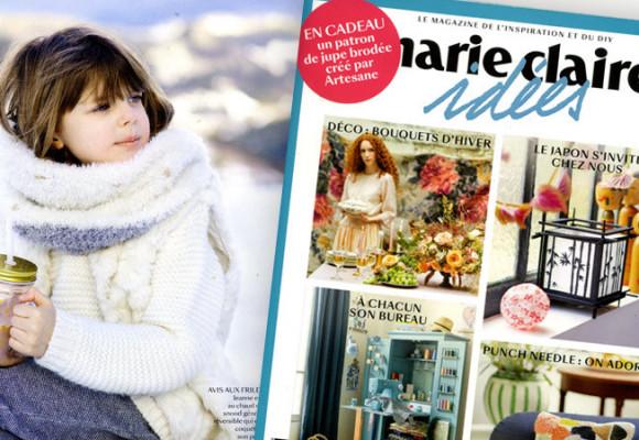 Patron de tricot pour Marie-Claire-Idées