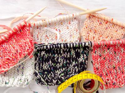 Pourquoi faire un échantillon en tricot ?