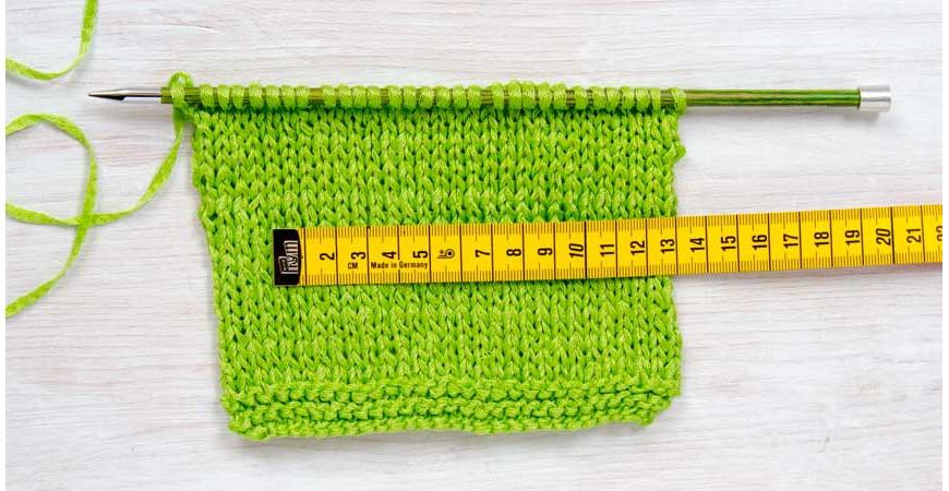 Comment réaliser un échantillon en tricot ?
